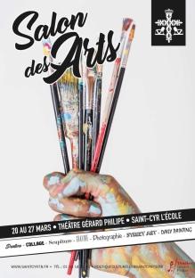 Organisé par La Mairie de St Cyr l'Ecole Sandra Valente artiste peintre www.sandravalente.fr