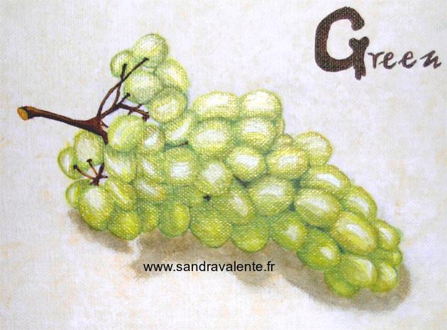 Sandra Valente artiste peintre www.sandravalente.fr