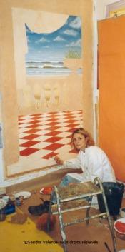 Atelier 2003 - Sandra Valente artiste peintre